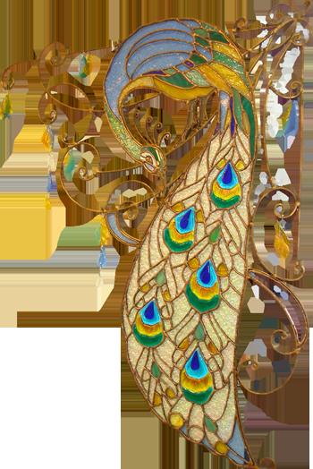 Элемент для украшения лестниц и других кованых изделий