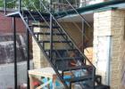 металлическая лестница монтаж под ключ